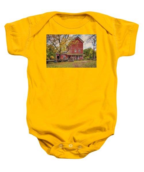 Historic Bowens Mills Baby Onesie