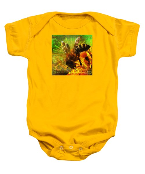 Homage To A Bee 2015 Baby Onesie