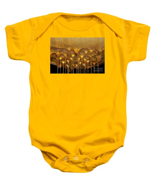 Baby Onesie featuring the photograph Honey Drip by Stephen Mitchell