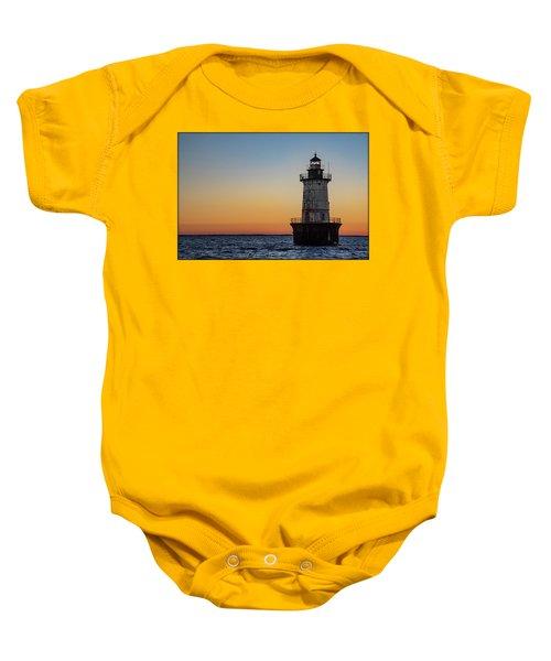 Hoopers Island Sunset Baby Onesie