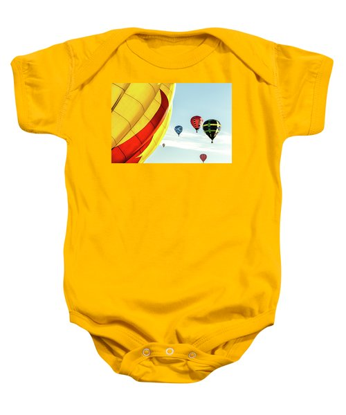 Hot Air Balloons Baby Onesie
