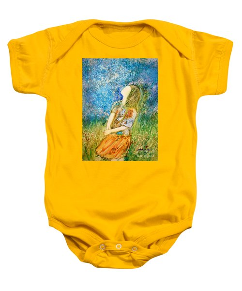 How Great Thou Art Baby Onesie