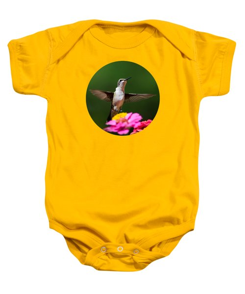 Hummingbird Baby Onesie by Christina Rollo