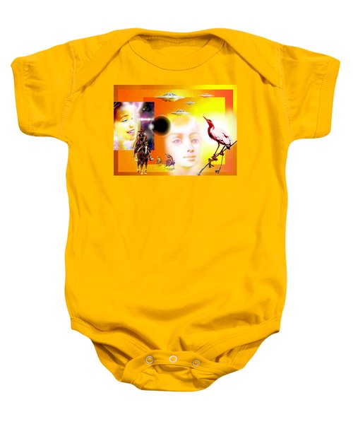Illusion  Of Reality Baby Onesie
