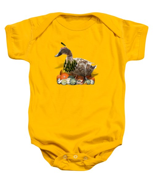 Indian Duck Baby Onesie