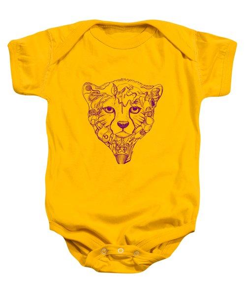 Iranian Cheetah Baby Onesie by Adam Campbell