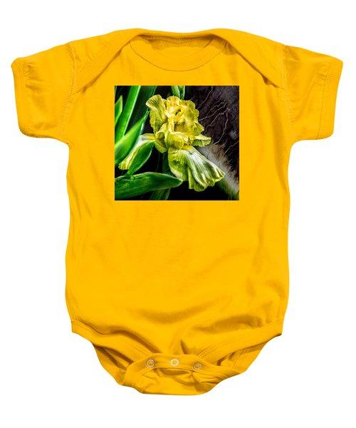 Iris In Bloom Two Baby Onesie