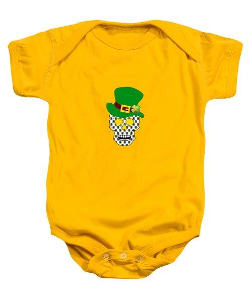 Irish Skull Baby Onesie