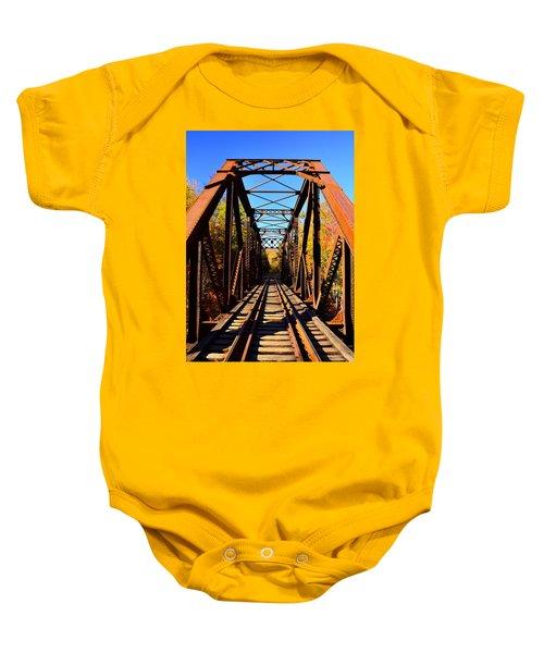 Iron Bridge Baby Onesie