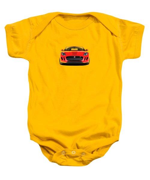 Jaguar F Type Baby Onesie