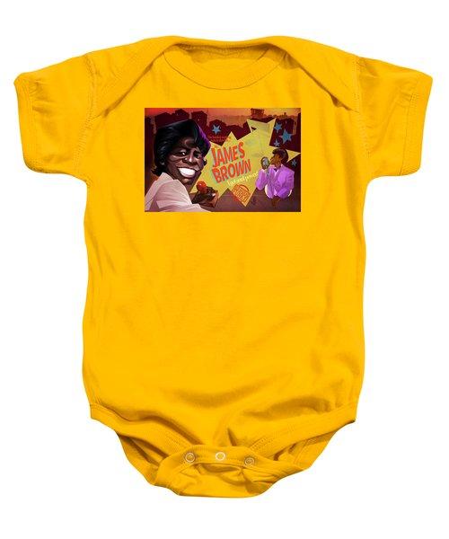 James Brown Baby Onesie