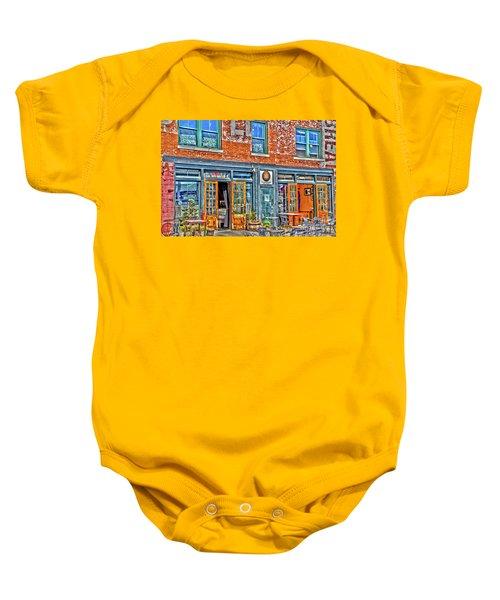 Java House Baby Onesie