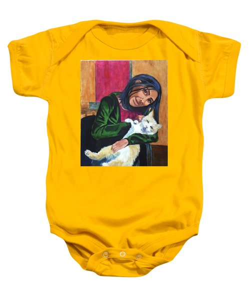 Jenny And Rogan Baby Onesie
