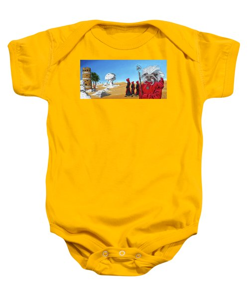Journey To The White Desert Baby Onesie