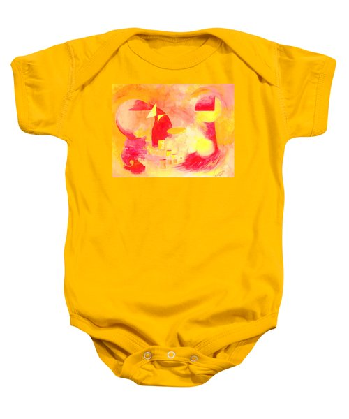 Joyful Abstract Baby Onesie