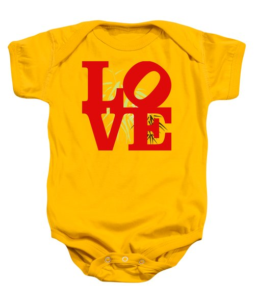 Jungle Love Tee Baby Onesie