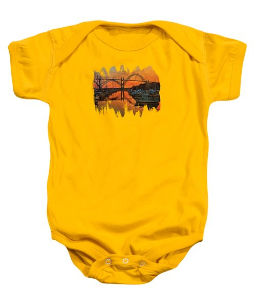Just After Sunset  Baby Onesie