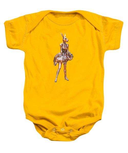 Kangaroo Marilyn Baby Onesie