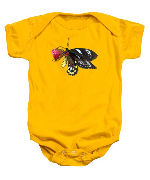 Key West Butterfly 12 Baby Onesie