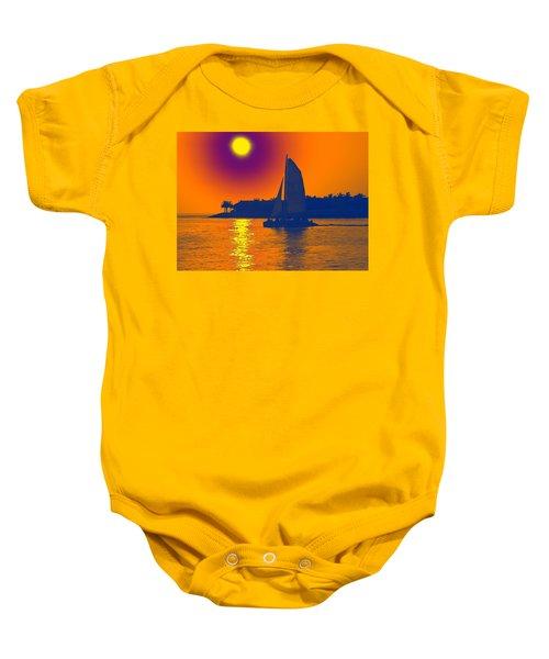 Key West Passion Baby Onesie