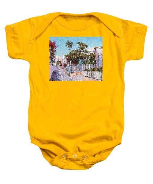 King Street 1 Baby Onesie