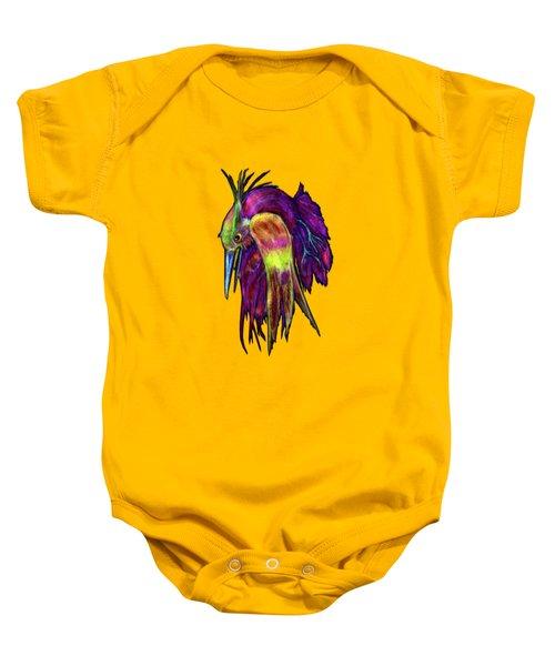 Kingfisher Falling La Caida Del Martin P Baby Onesie