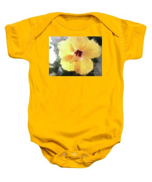 Lady Yellow Baby Onesie