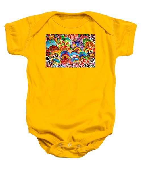 Land Of Brilliant Color Baby Onesie