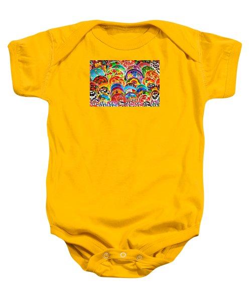 Land Of Brilliant Color Baby Onesie