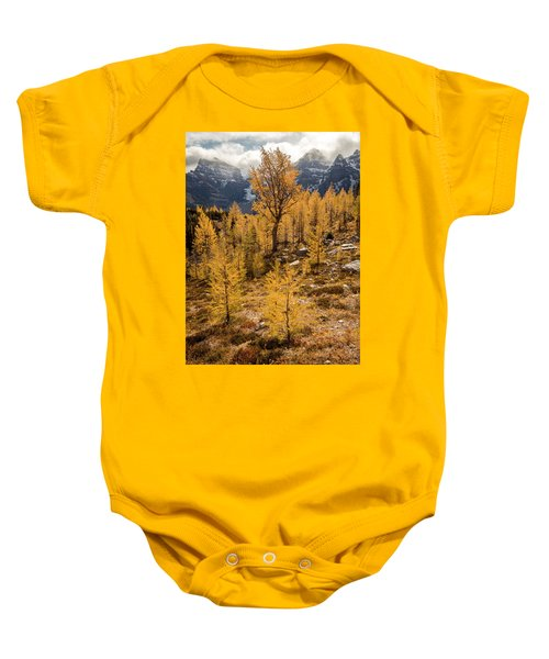 Larch Family Baby Onesie