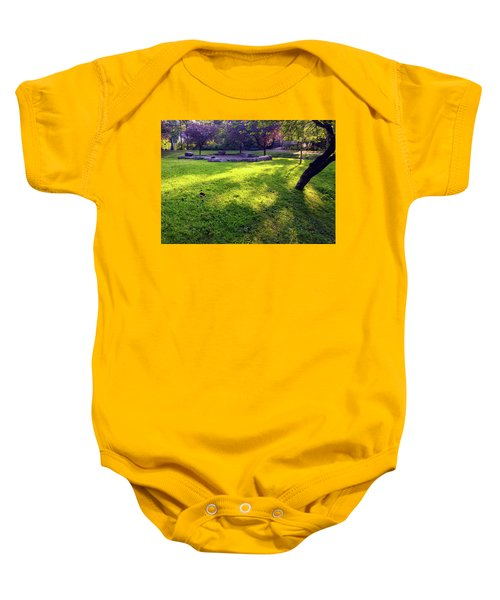 Late Summer Light Baby Onesie