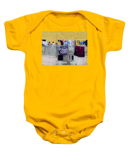 Laundry In Guanajuato Baby Onesie