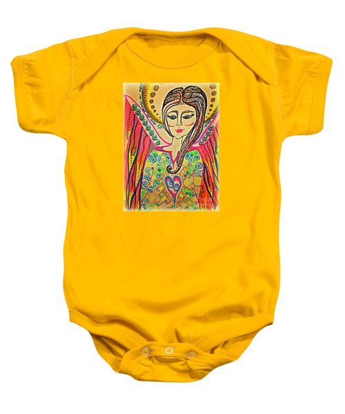 Let There Be Peace On Earth  Baby Onesie
