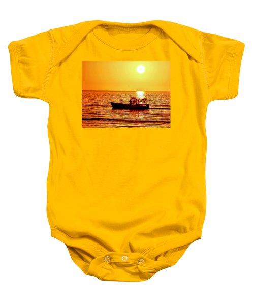 Life At Sea Baby Onesie