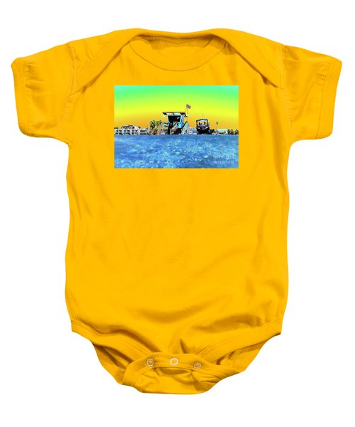 Lifeguard Tower 1 Baby Onesie