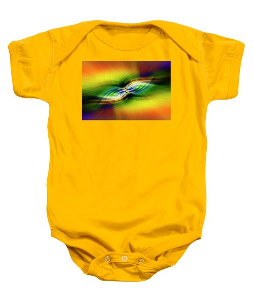 Light Abstract 9 Baby Onesie