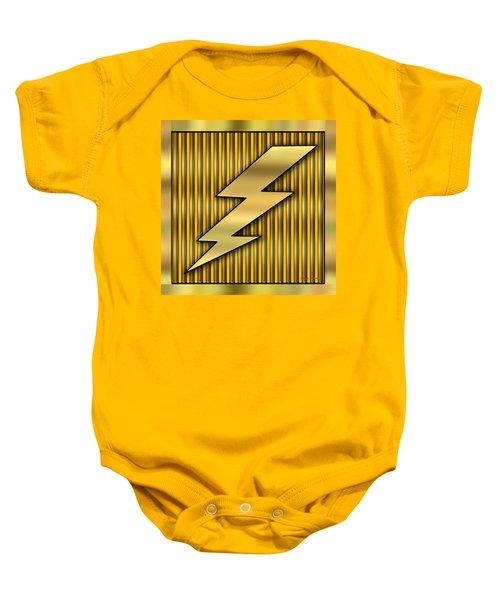Lightning Bolt Baby Onesie