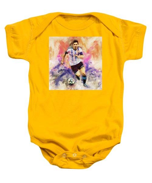 Lionel Messi 094c Baby Onesie