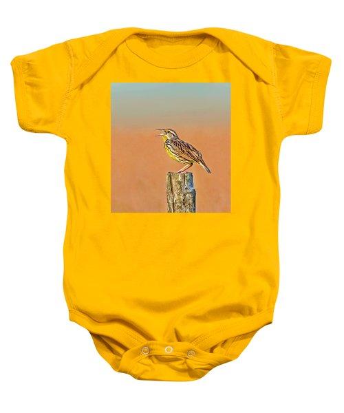 Little Songbird Baby Onesie