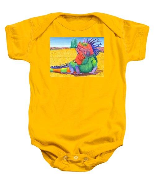 Lizard Of Oz Baby Onesie