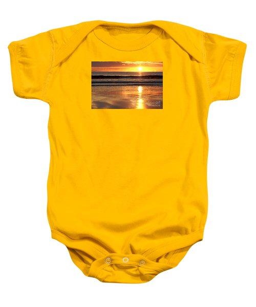 Llangennith Sundown Baby Onesie