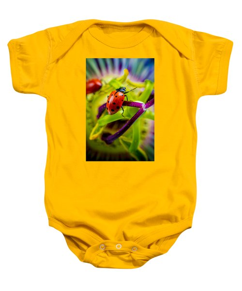 Look At The Colors Over There. Baby Onesie