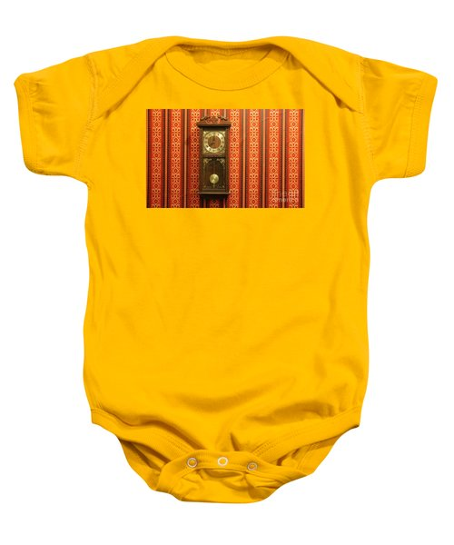 Baby Onesie featuring the photograph Lost In Time And Space by Stephen Mitchell