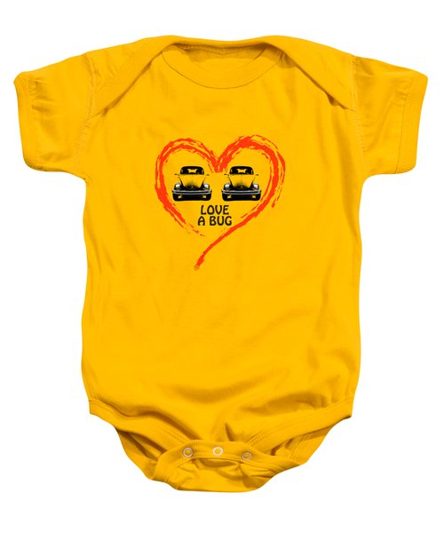 Love A Bug Baby Onesie