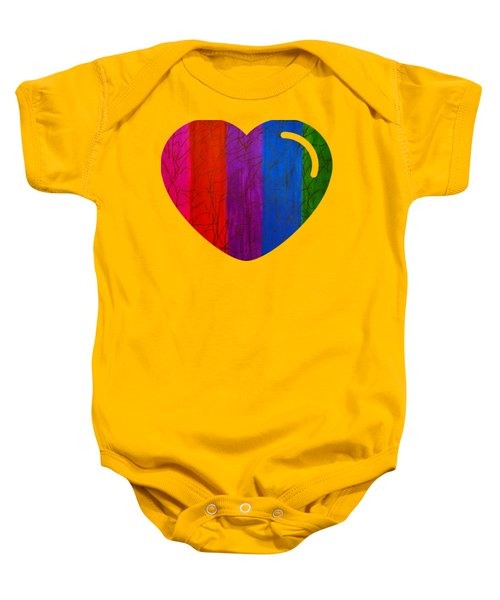 Love Is Love Baby Onesie