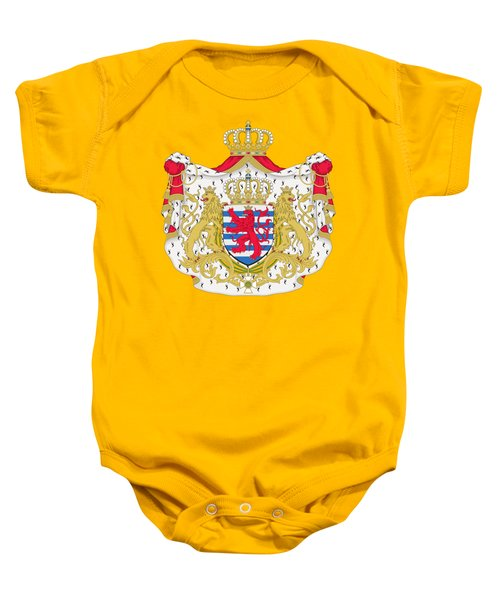 Luxembourg Coat Of Arms Baby Onesie