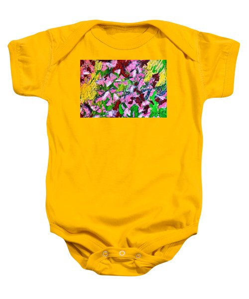 Lyrical Abstraction 201 Baby Onesie