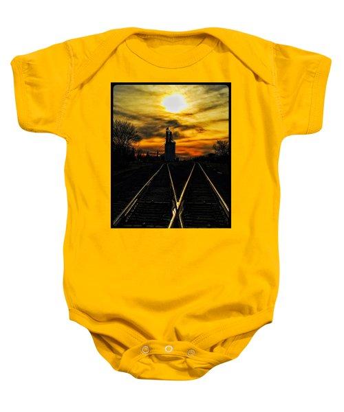 M Track Baby Onesie