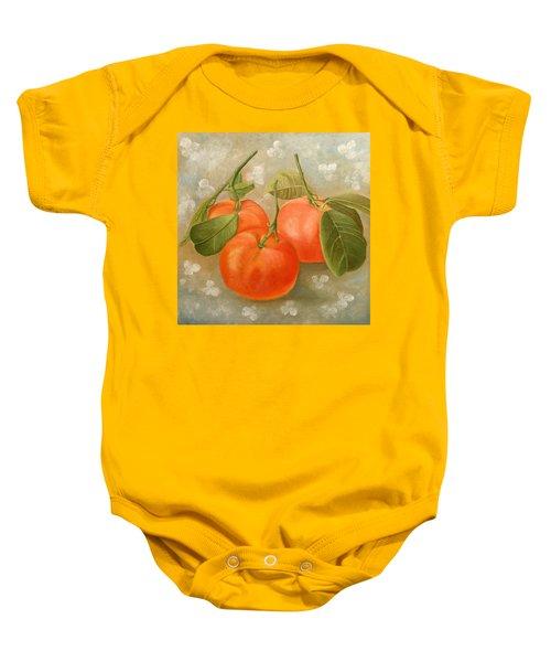 Mandarins Baby Onesie