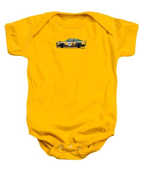 Mazda Savanna Gt Rx3 Racing Yoshimi Katayama 1975 Baby Onesie